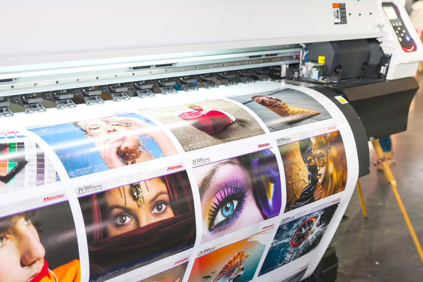 When it comes to vinyl printing our work is the exact manifestation of our clients requirements