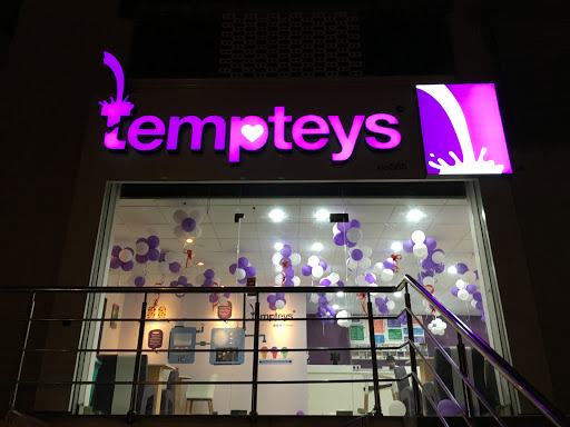 raghudigitals made Led sign boards for Tempteys, Gachibowli