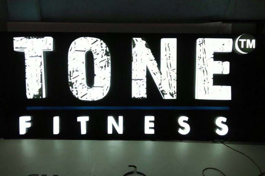 LED Signage for Tone Fitness Center, Bachupally