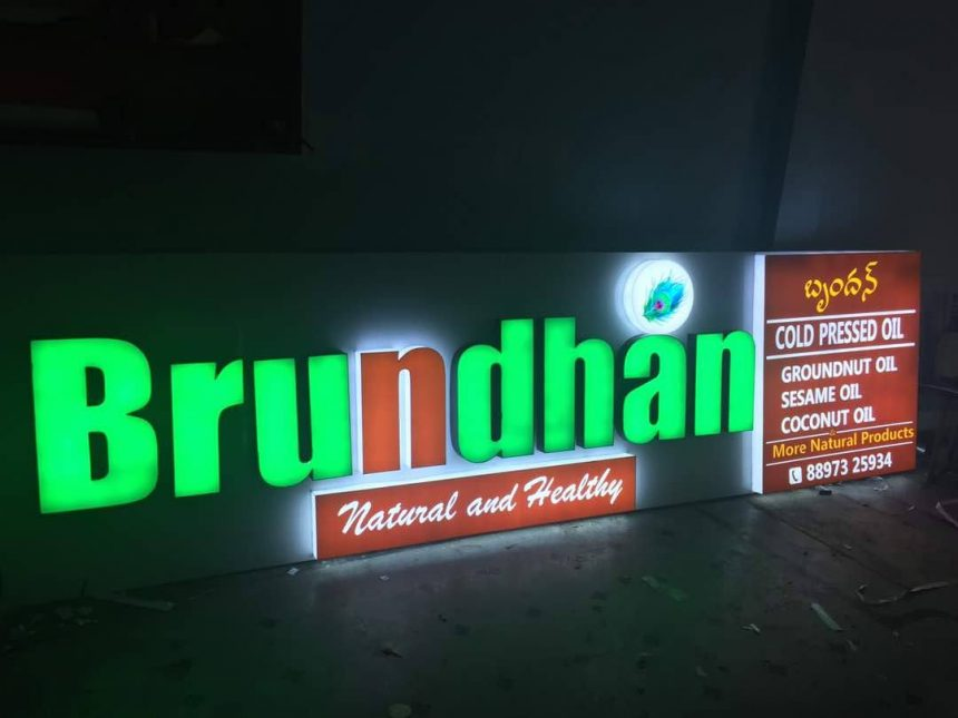 LED Signboard for Stores