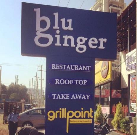 Raghudigitals signage works in Gachibowli